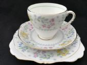 Delicate  Grafton deco tea trio